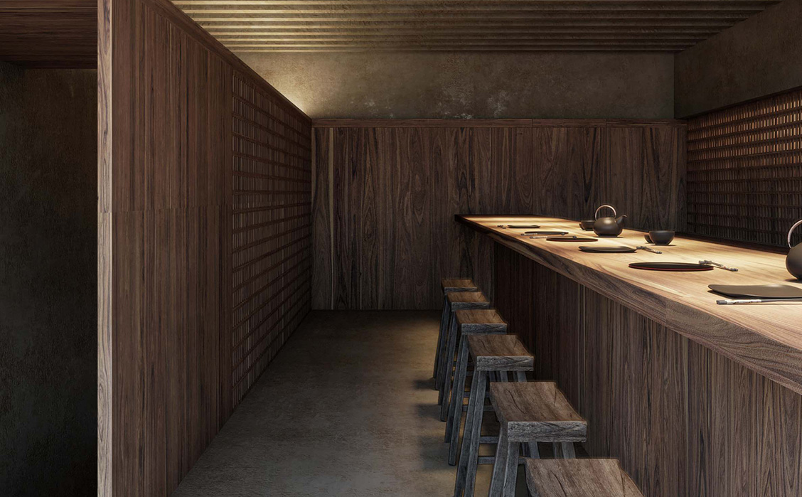 private dining room bar